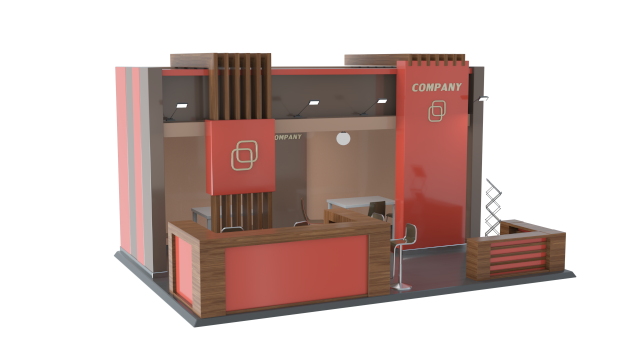 Industry UK Virtual Exhibition Custom Build Stands