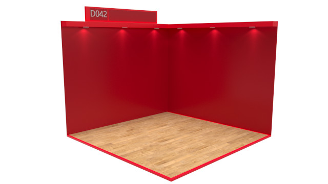 Classic Red Virtual Exhibition Stand Catalogue