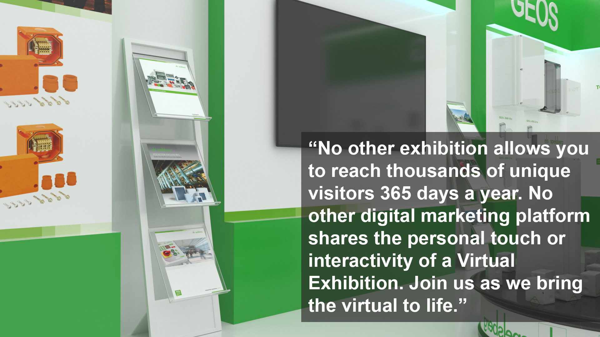Industry UK Virtual Exhibition Always Open Stand